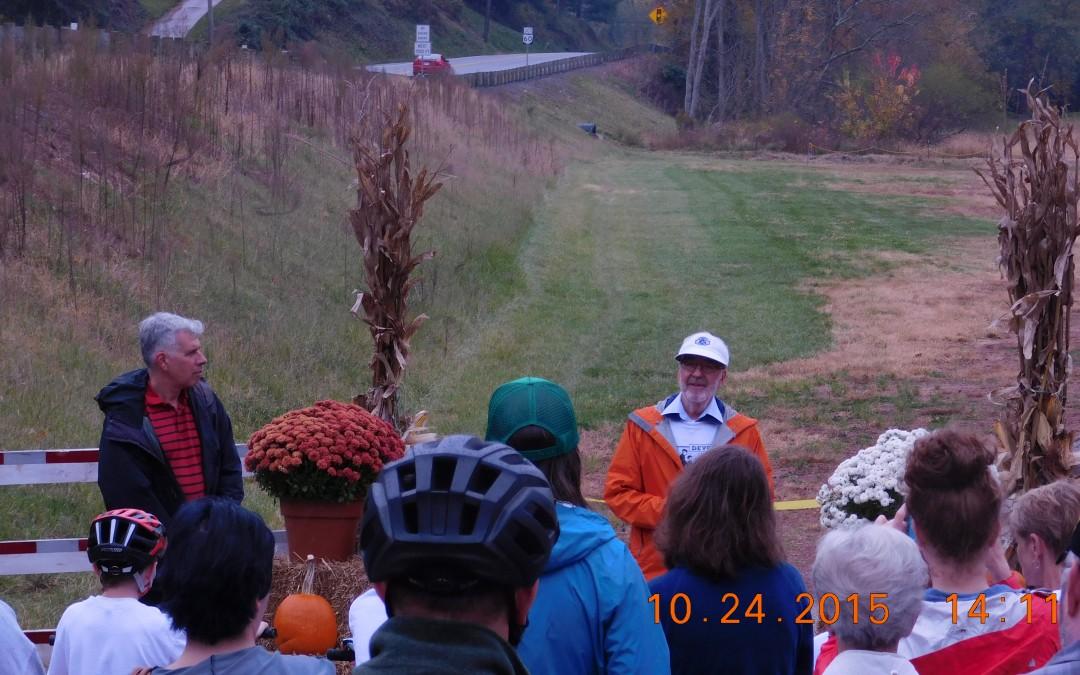 Devola Trail Dedicated