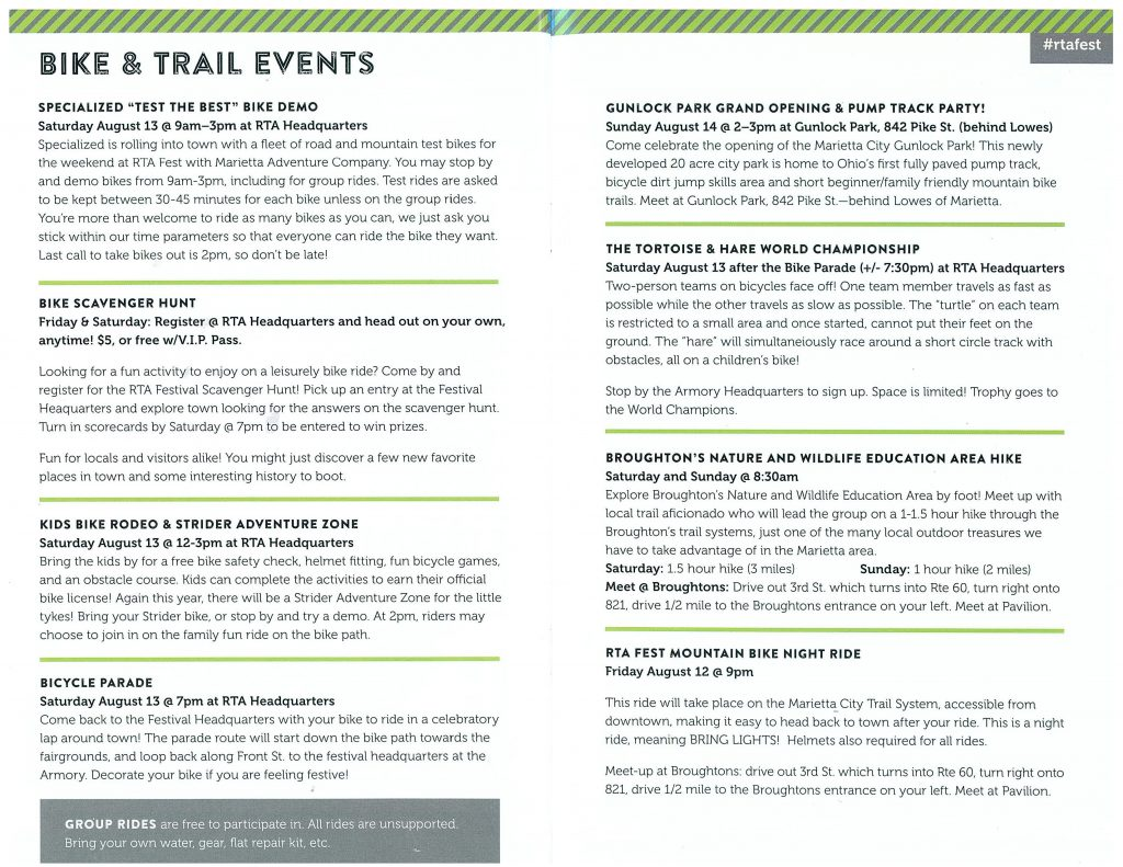 RTA Events - Broughton Nature and Wildlife Education Area